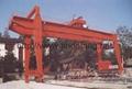 Door type slag automatic tipping crane shield gantry crane