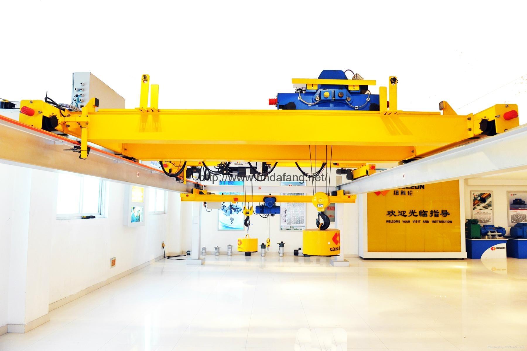 NLH型歐式電動雙梁起重機