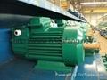 Crane machine crane motor