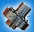 Elastic sleeve pin coupling