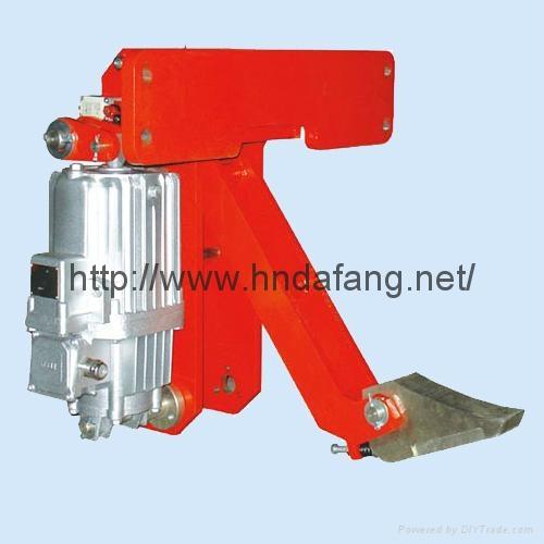 YFX系列电力液压防风铁楔制动器 1