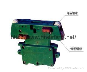 管式滑线集电器
