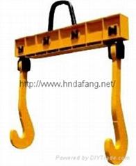 板鉤龍門吊具鋼包吊具