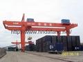 Double main beam door crane 2