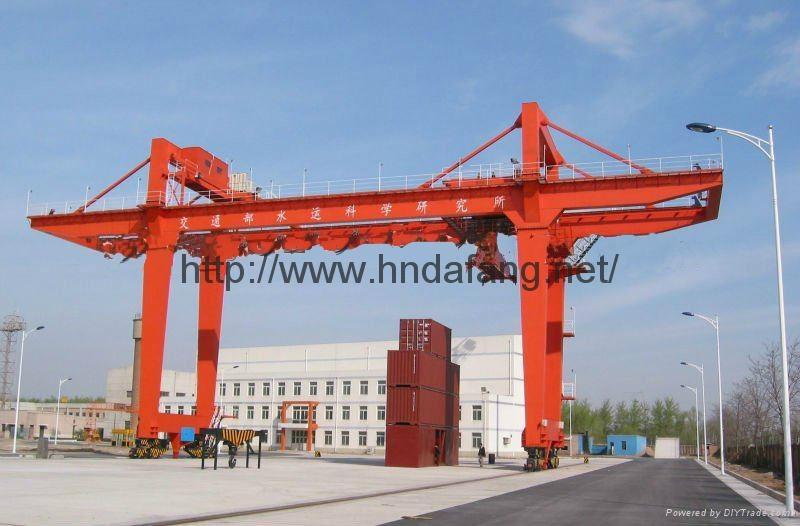 Double main beam door crane 3