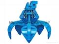 起重机专用电力液压抓斗各种体积两瓣多瓣抓斗 3