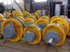 5-500t crane wheel group