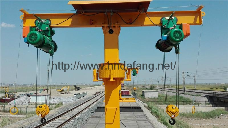 Ride the maintenance crane The train crane The railway crane 1