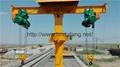 铁路收轨起重机火车随车维修起重机铁路T型收轨起重机 1