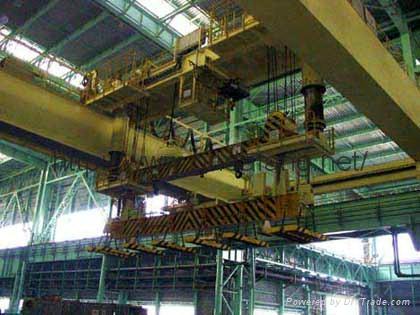 QT electromagnetic beam bridge crane 2