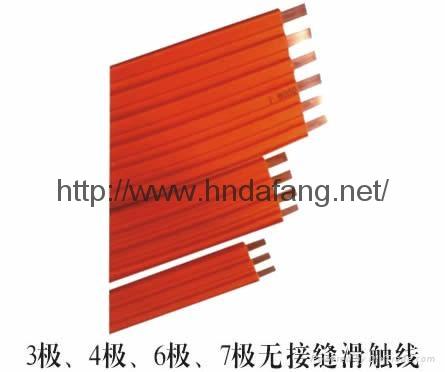 單梁起重機供電無接縫滑觸線葫蘆供電滑觸線 2