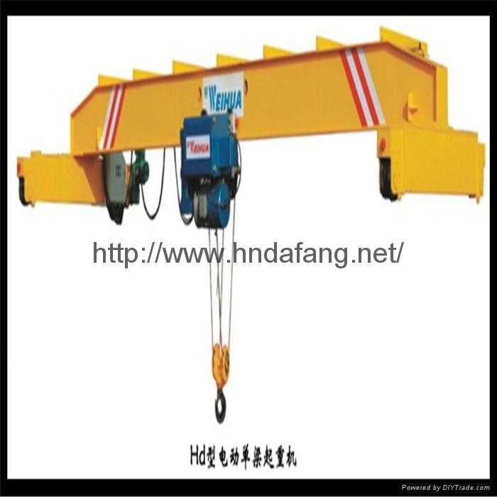 欧式单梁起重机HD欧式单梁行车 1