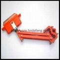 起重机供电滑线配套集电器无缝滑触线