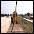 铁路收轨车悬臂可伸缩铁路收轨吊