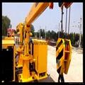 铁路收轨车悬臂可伸缩铁路收轨吊收轨起重机 3