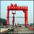 地铁口专用盾构龙门起重机跨度可调盾构龙门 3