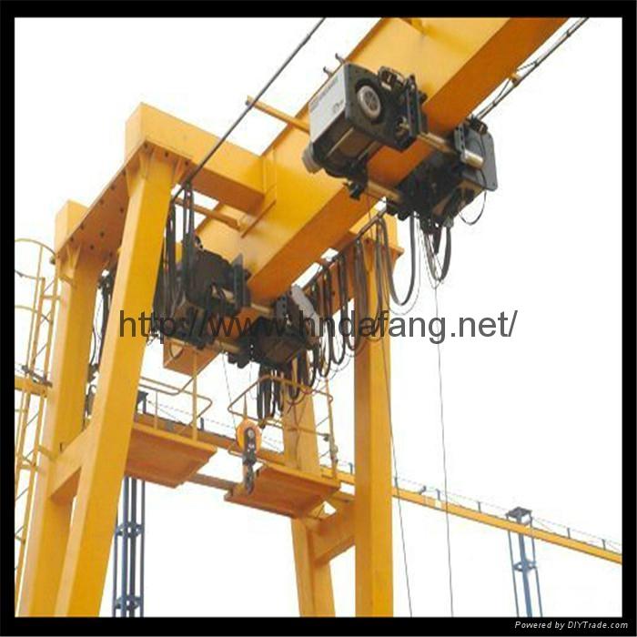 European double beam gantry crane
