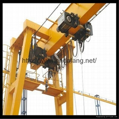 European double beam gantry crane