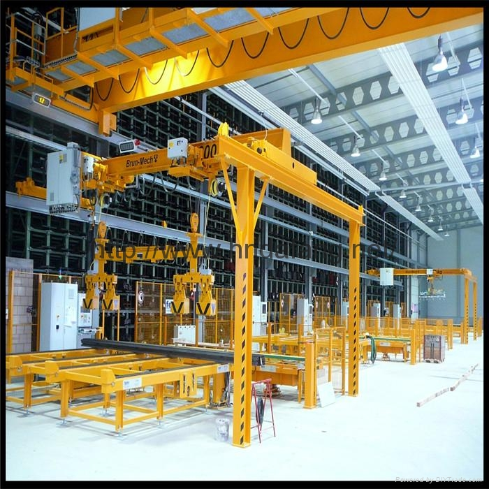 European double beam gantry crane 2