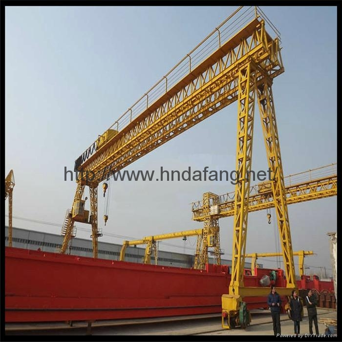 European double beam gantry crane 3