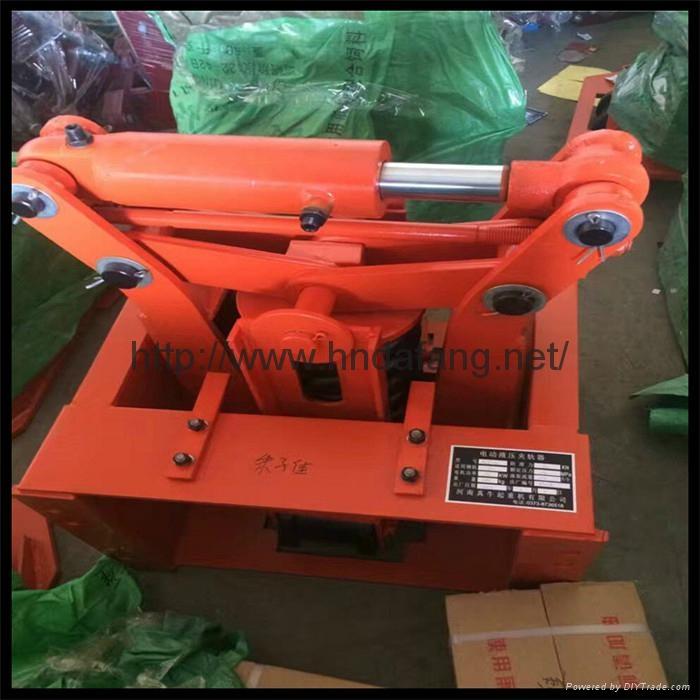 起重机 弹簧式夹轨器电力液压夹轨器 5