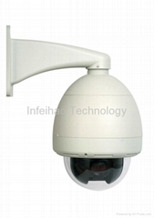 Outdoor Speed Dome Megapixel CCD Zoom IP Camera