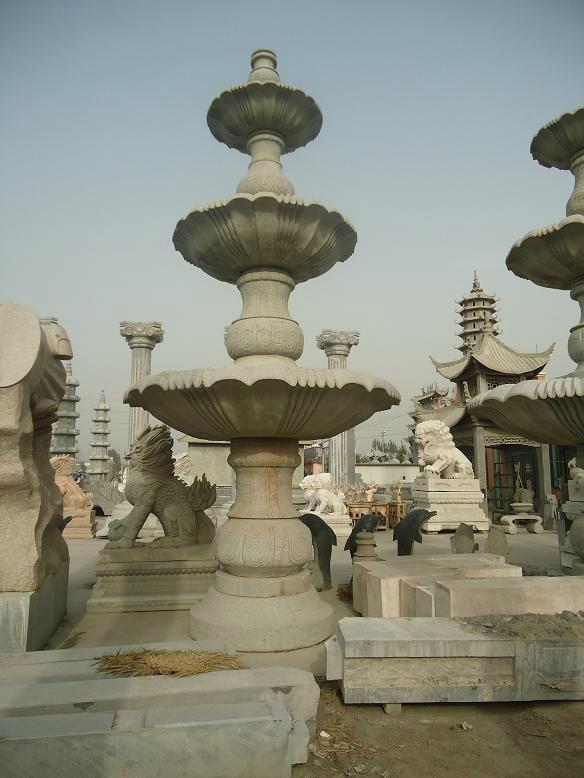 石雕噴泉 3