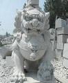 石雕石狮子 3