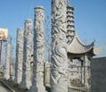 石雕龍柱子 3