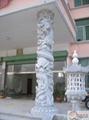 石雕龍柱子 5