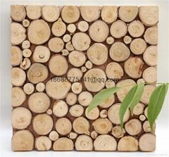 solid wood mosaic