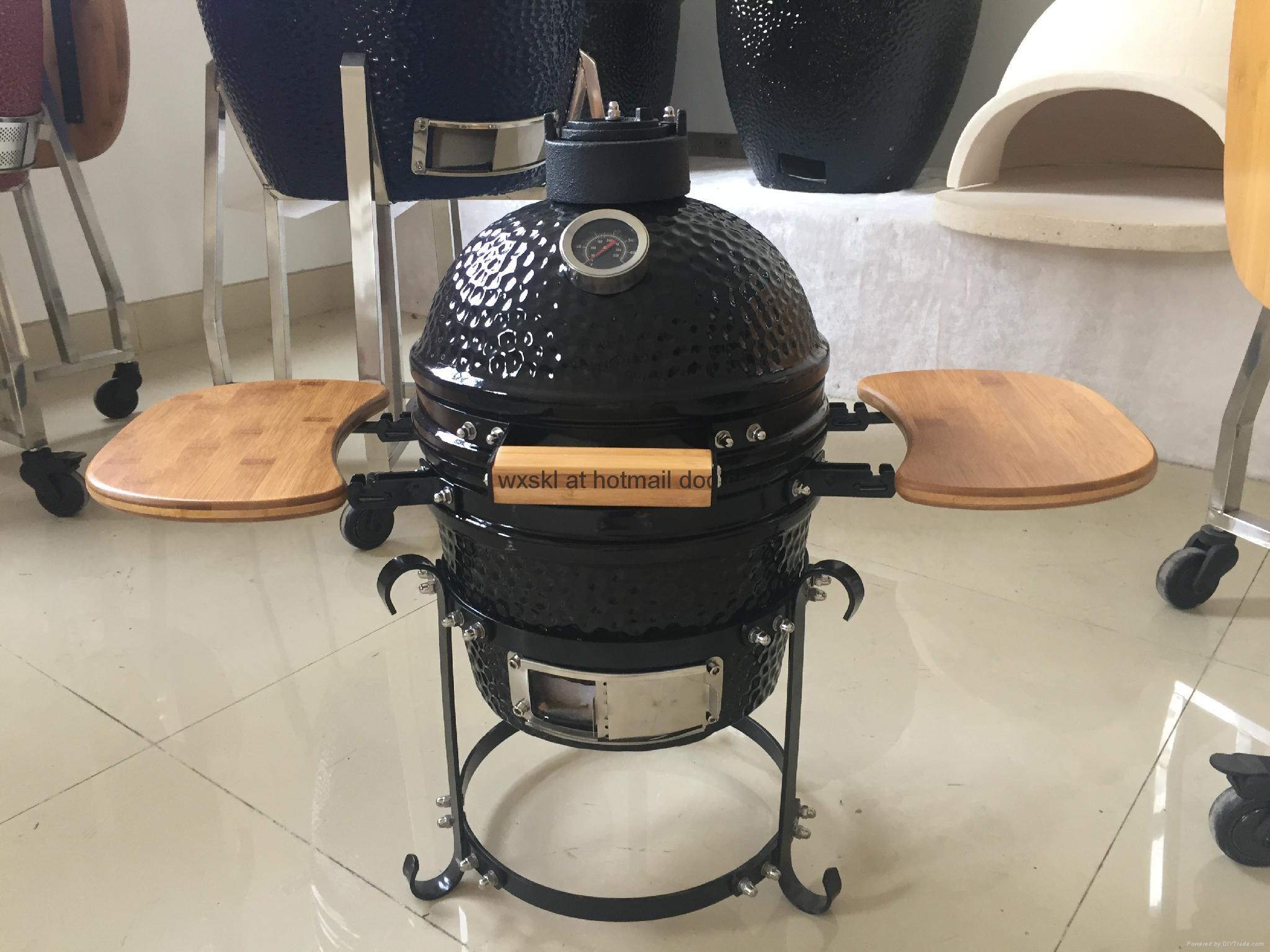 Mini Kamado Barbecue Grill Outdoor Cooking Garden