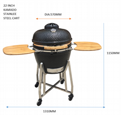 outdoor  kamado bbq  grill cooking/ceramic barbecue