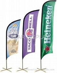 Portable sail banner