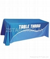 6 feet table cover    6 foot table cloth
