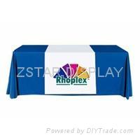 Corporate logo table cov