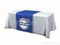 Dye sublimation print table cover