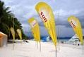 Teardrop beach flag   2