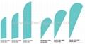 Custom design feather banner 4