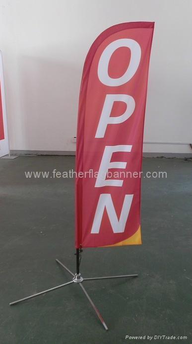 Custom design feather banner 3