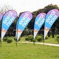 Event teardrop banner