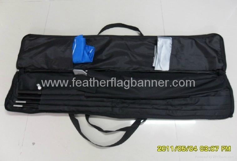 Custom logo  feather flags 6