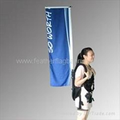 Backpack flag & Backpack