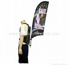 Promotional backpack fla