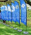 Beach wing banner