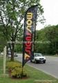 Flying banner