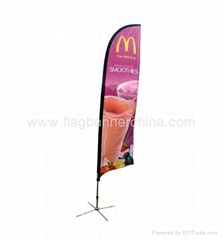 Deco flag   feather flag banner