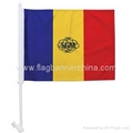 Car Window Banner     Car window flags