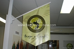 Advertising wall flag