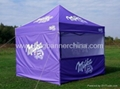 Canvas tents   Digital printed marquee